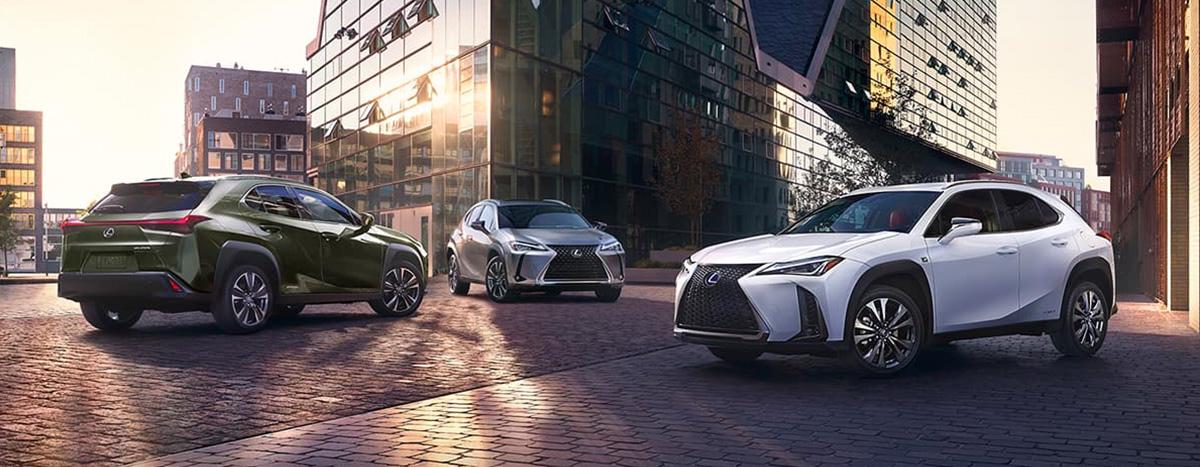 2020 Lexus UX footer