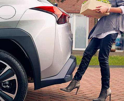 2020 Lexus UX hands free tailgate