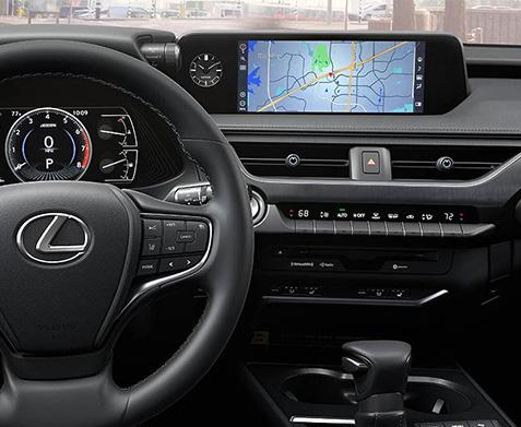 2020 Lexus UX interior dash
