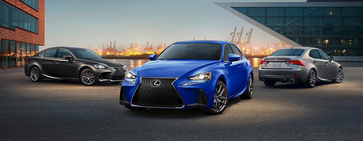 2020 Lexus IS footer