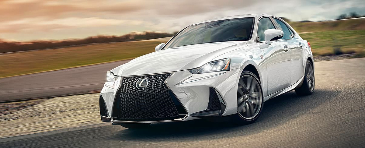 2020 Lexus IS header