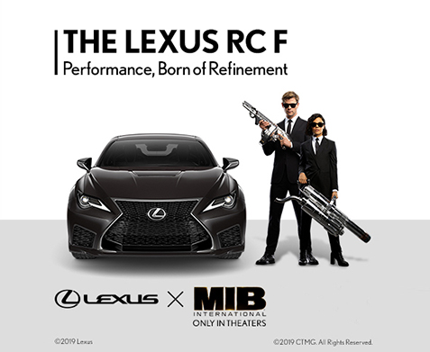 Men in Black International X Lexus