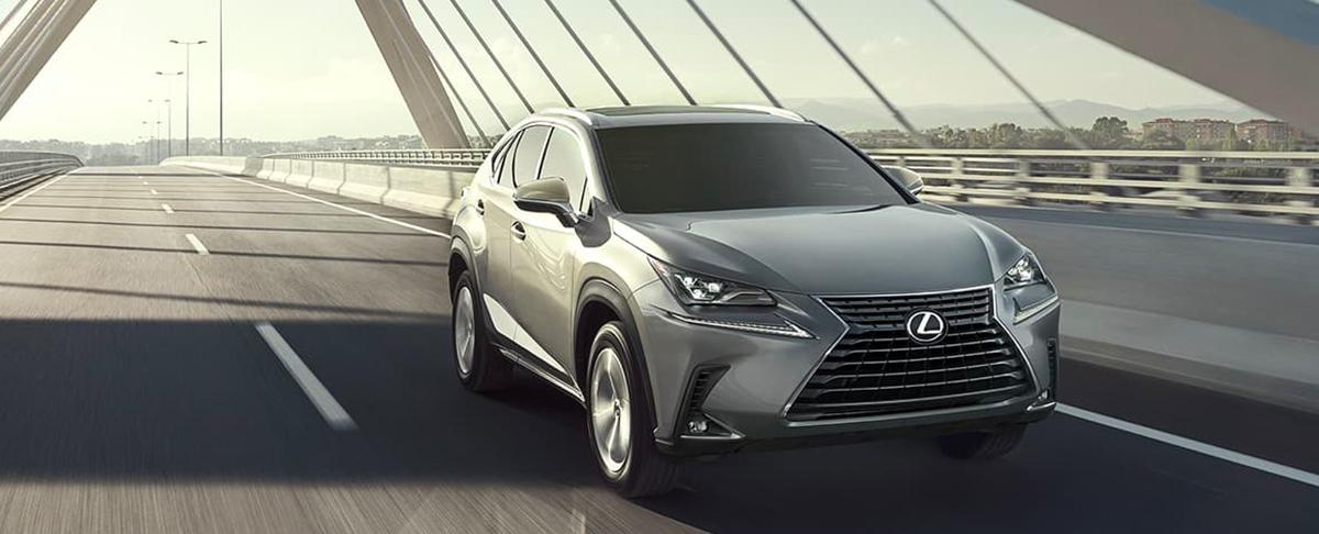2020 Lexus NX header