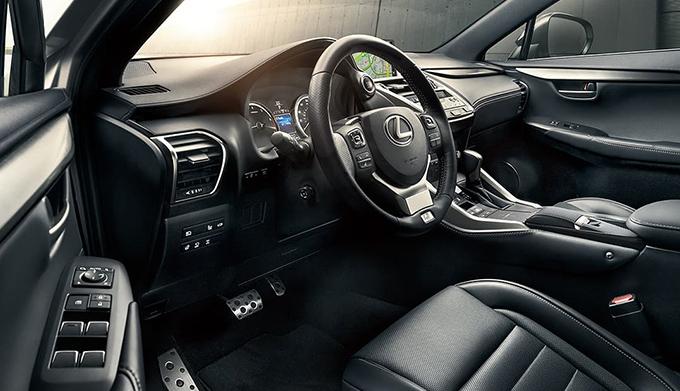 2020 Lexus NX interior dash