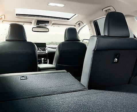 2020 Lexus NX interior rear