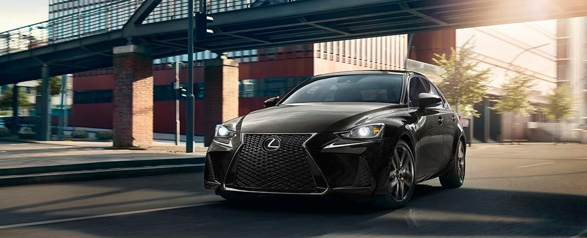 2020 Lexus IS header