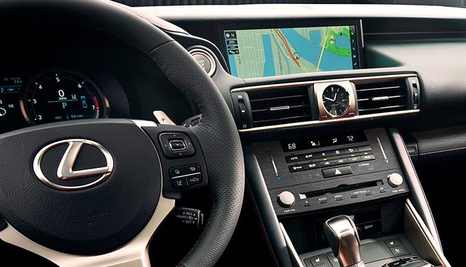 2020 Lexus IS interior dash