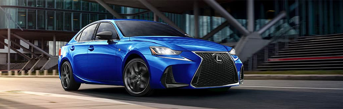 2020 Lexus IS performance