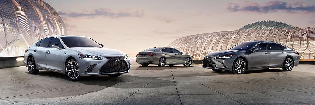 Lexus ES Lineup