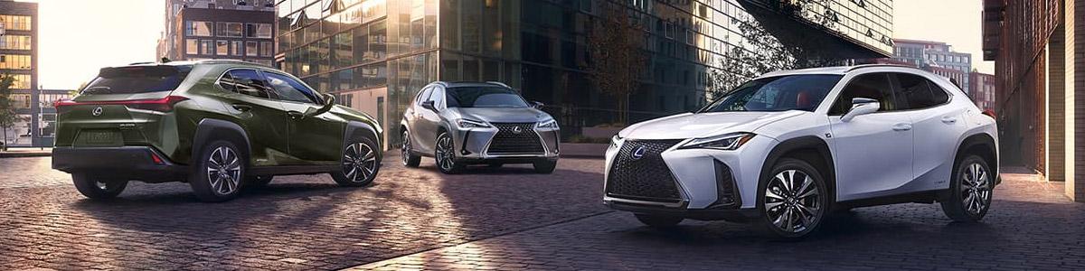 2020 Lexus UX lineup