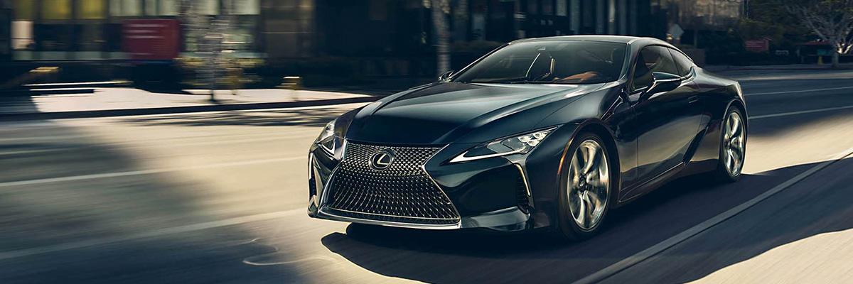 2021 Lexus LC header