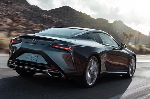 2021 Lexus LC specs