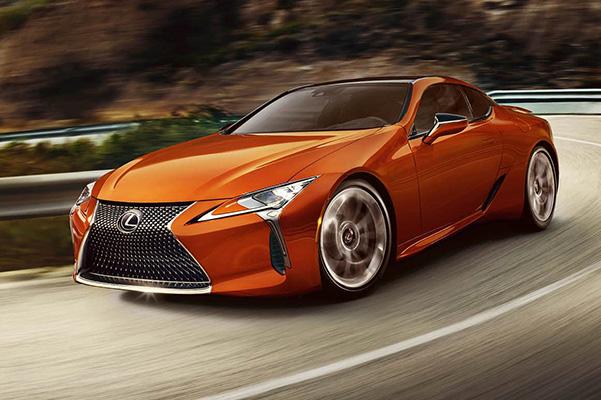 2021 Lexus LC performance