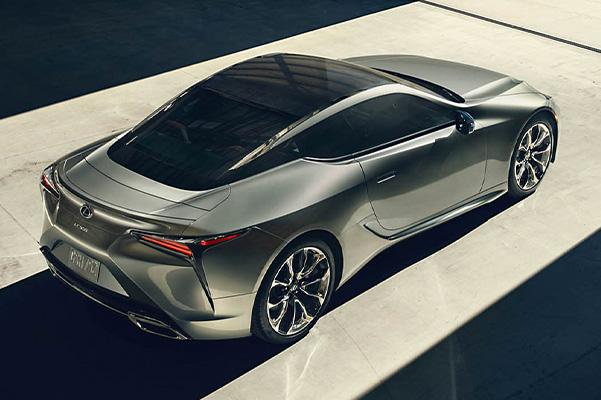 2021 Lexus LC safety
