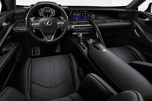 2021 Lexus LC interior dash