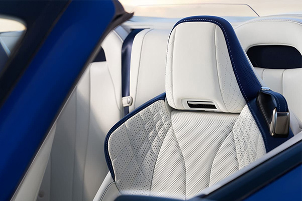 2021 Lexus LC 500 convertible interior