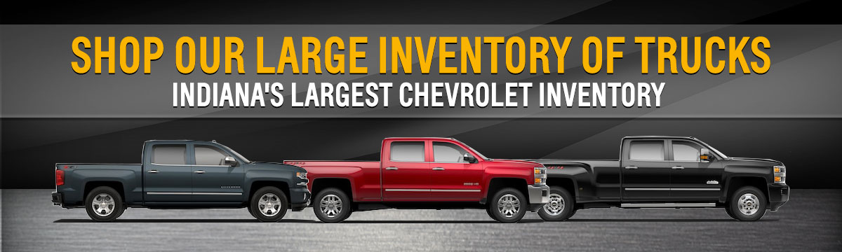 2018 Chevy Truck Lineup Indianapolis Chevrolet Truck Sales