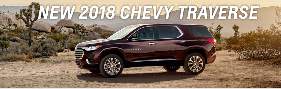 Lease the 2018 Chevrolet Traverse Buy a New Chevy near Avon IN
