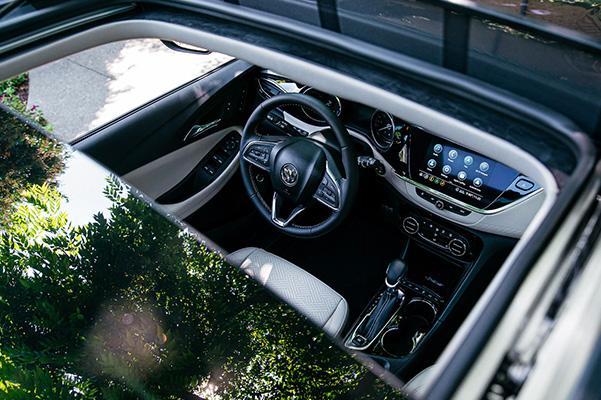 2020 Buick Encore GX exterior sunroof