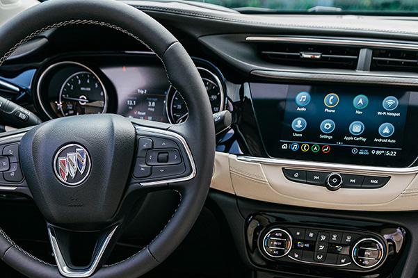 2020 Buick Encore GX interior dash