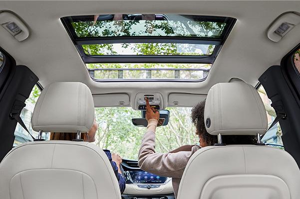 2020 Buick Encore GX interior sunroof