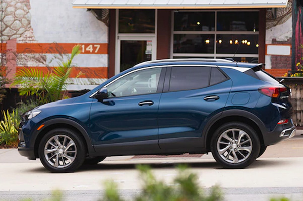 2020 Buick Encore GX parked side view