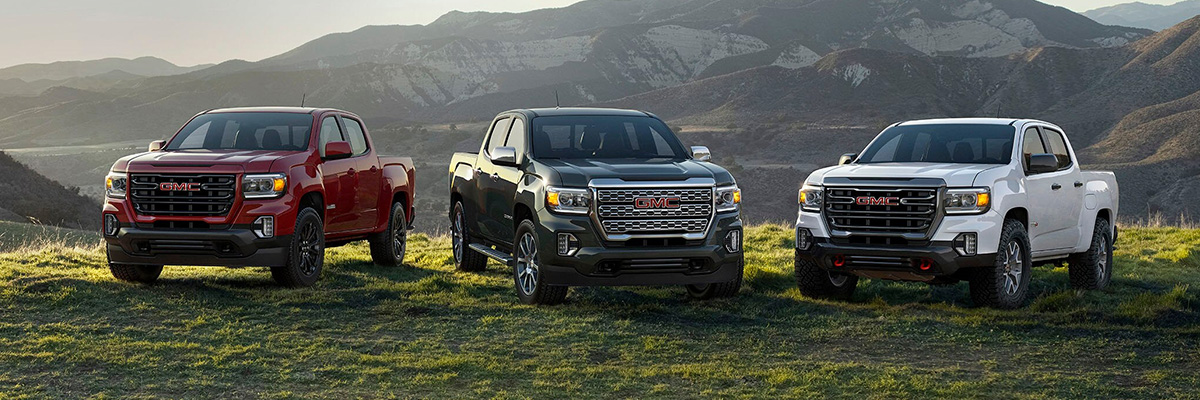 2021 GMC Canyon lineup