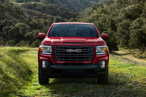 2021 GMC Canyon grille