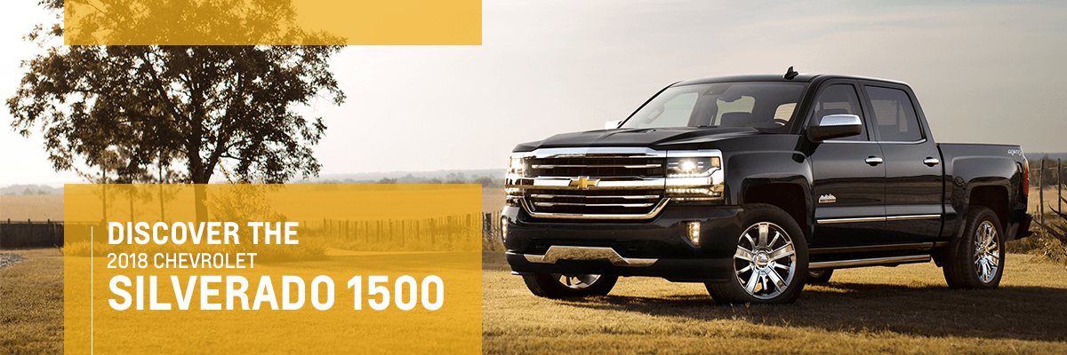 2018 Chevy Silverado Parked In Field