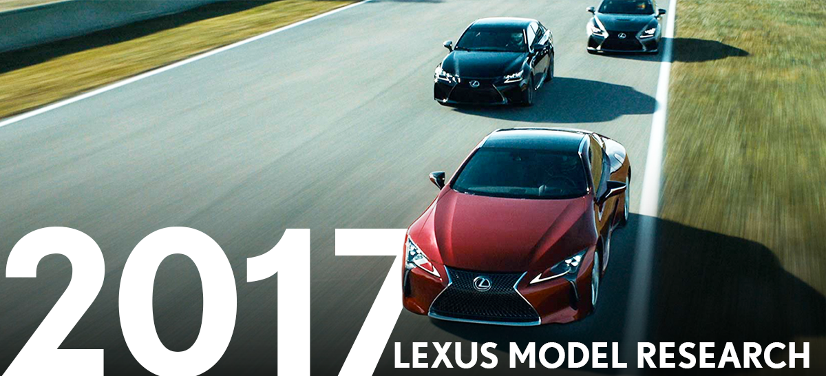 2018 Lexus Line up