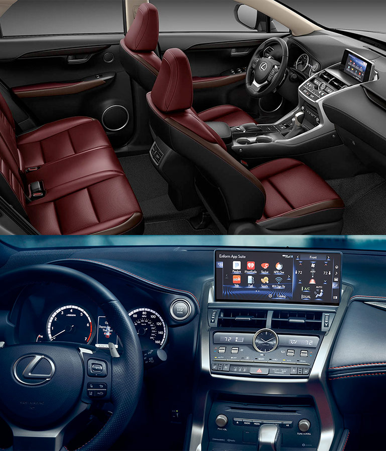 2019 Lexus NX Interior & Tech