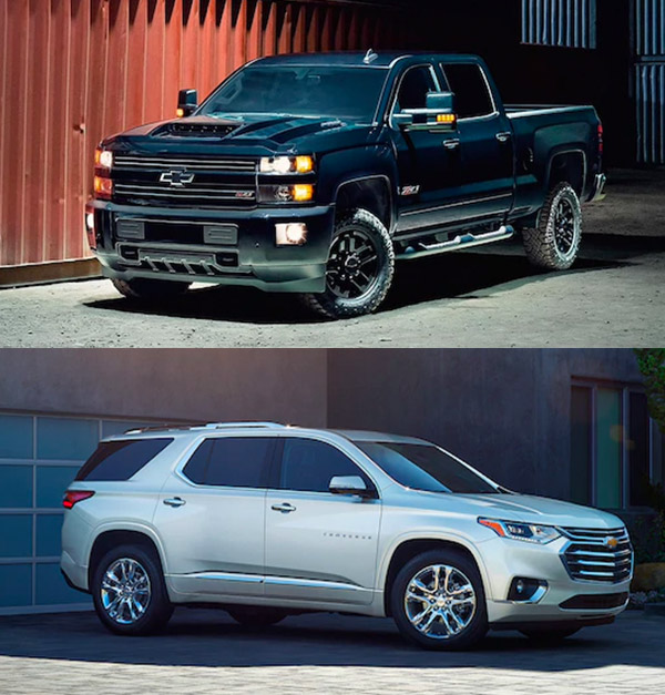 Chevy Silverado and Traverse