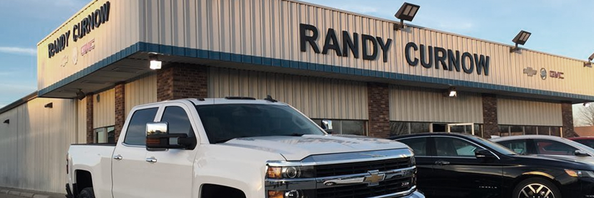 Exterior shot of Randy Curnow Chevrolet Buick GMC