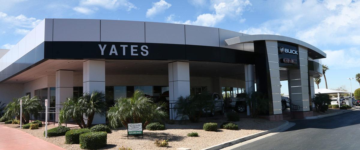 Yates Buick GMC  header