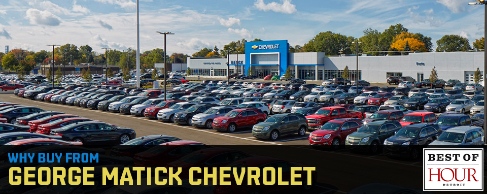 george matick chevrolet is a redford chevrolet dealer and a new car. Cars Review. Best American Auto & Cars Review