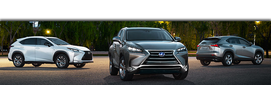 Lexus SUV Line up