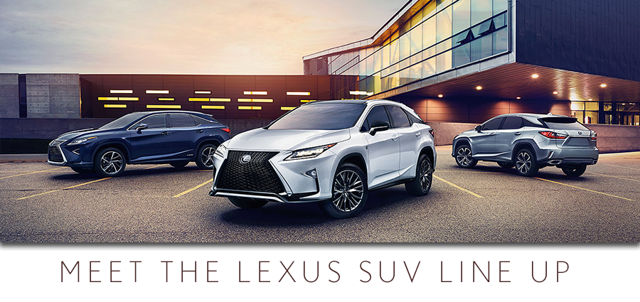 Lexus RX and the Lexus NX