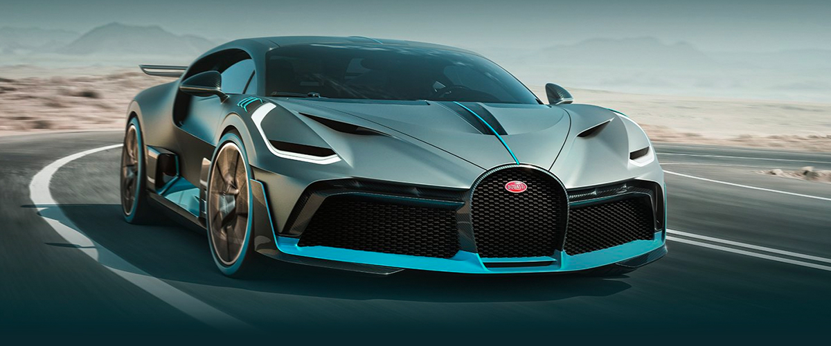 The All New Bugatti Divo header