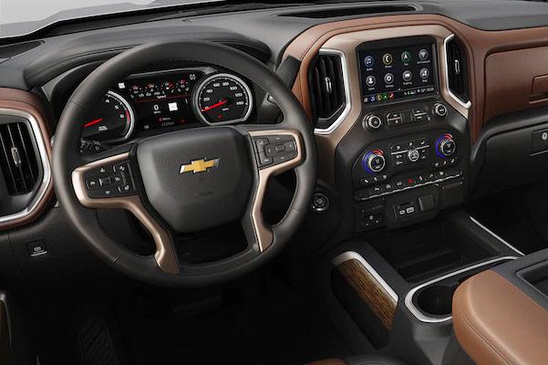2019 Chevy Silverado 1500 interior design