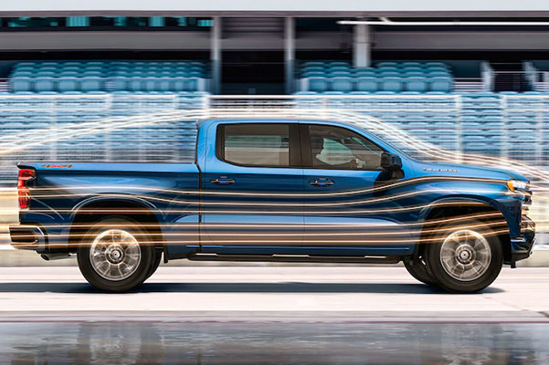 2019 Chevy Silverado 1500 holdas Up to 1,860 lbs. of maximum payload