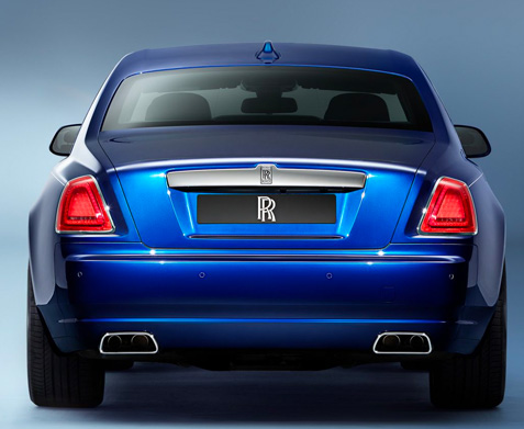 Introducing The Rolls-Royce Ghost