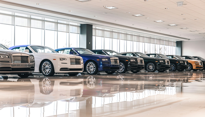 Braman Rolls-Royce Lease Return Center
