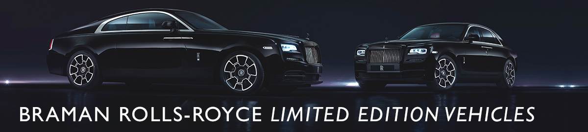 Limited Edition Rolls Royce Models Available At Braman Braman